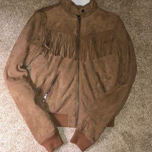 Lovely Brown Felt Jacket